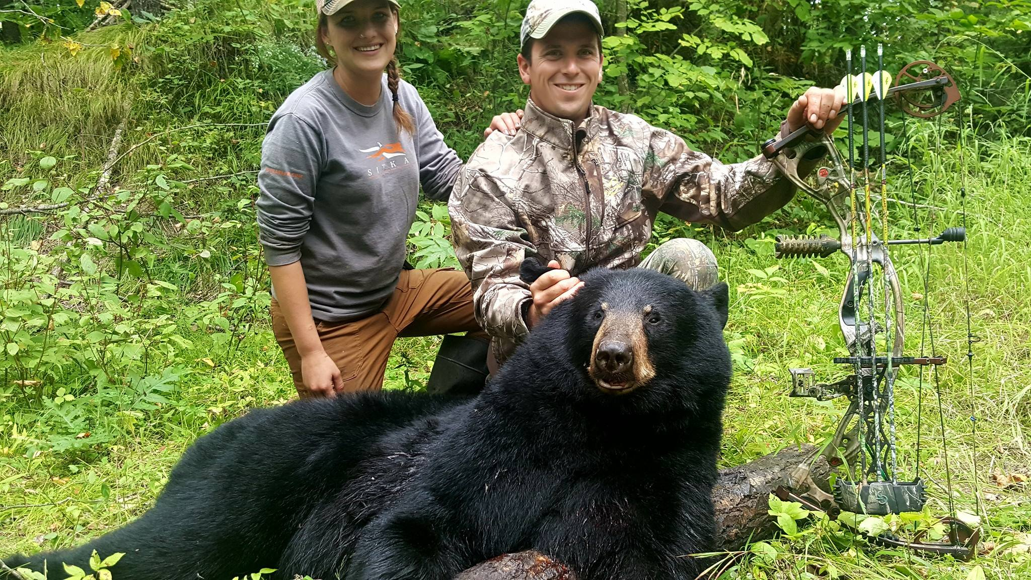 Guided Bear Hunting in Minnesota
